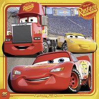 thumb-Disney Cars   - 3 puzzles of 49 pieces-3