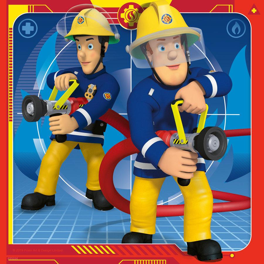 Brandweerman Sam - 3 puzzels van 49 stukjes-4