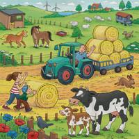 thumb-De boerderij - 3 puzzels van 49 stukjes-2
