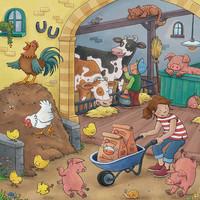 thumb-De boerderij - 3 puzzels van 49 stukjes-3