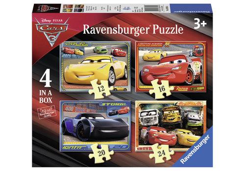 Disney Cars - 12+16 +20 +24 stukjes