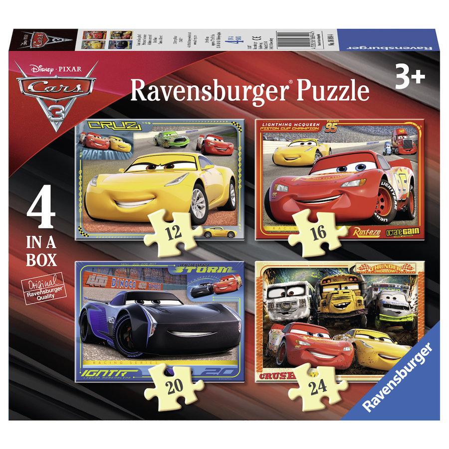 Disney Cars - 12+16 +20 +24 stukjes-1