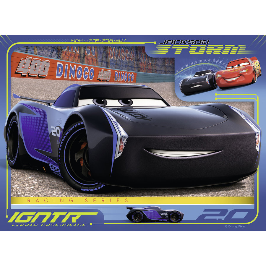Disney Cars - 12+16 +20 +24 stukjes-3