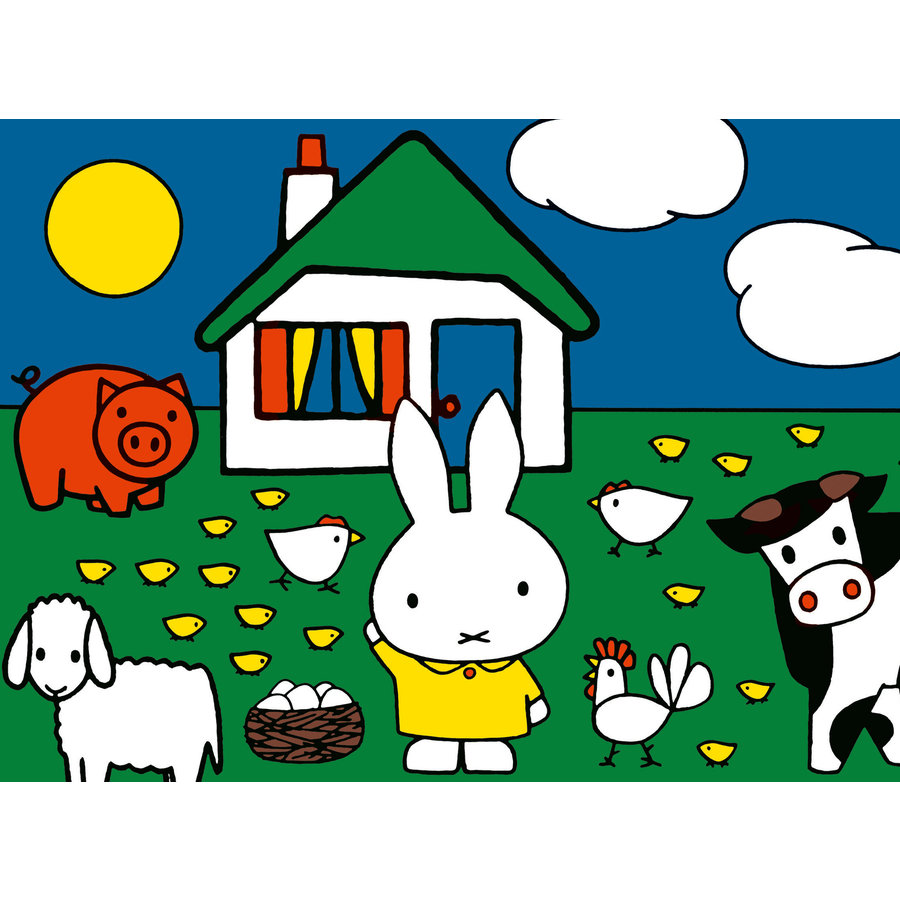 Miffy - 12+16 +20 +24 pieces-3