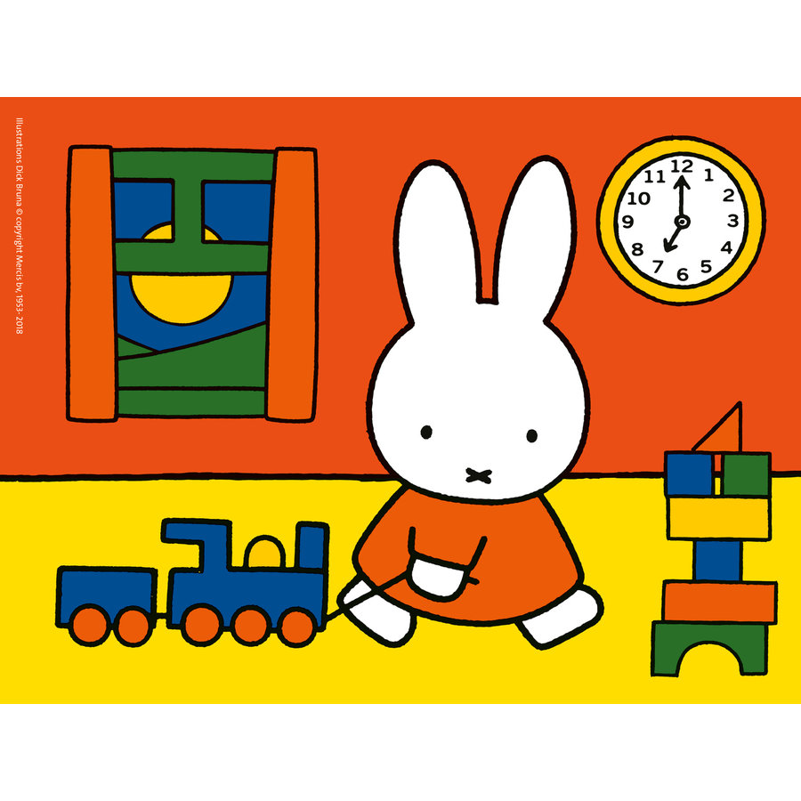 Miffy - 12+16 +20 +24 pieces-2