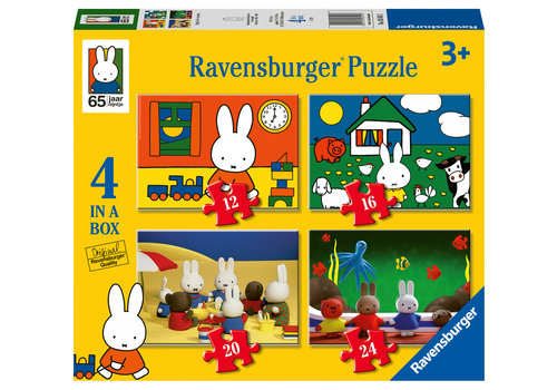 Ravensburger Miffy - 12+16 +20 +24 pieces
