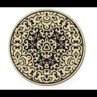 thumb-Zand - Dubbelzijdige Ronde puzzel in hout - 88 stukjes-2