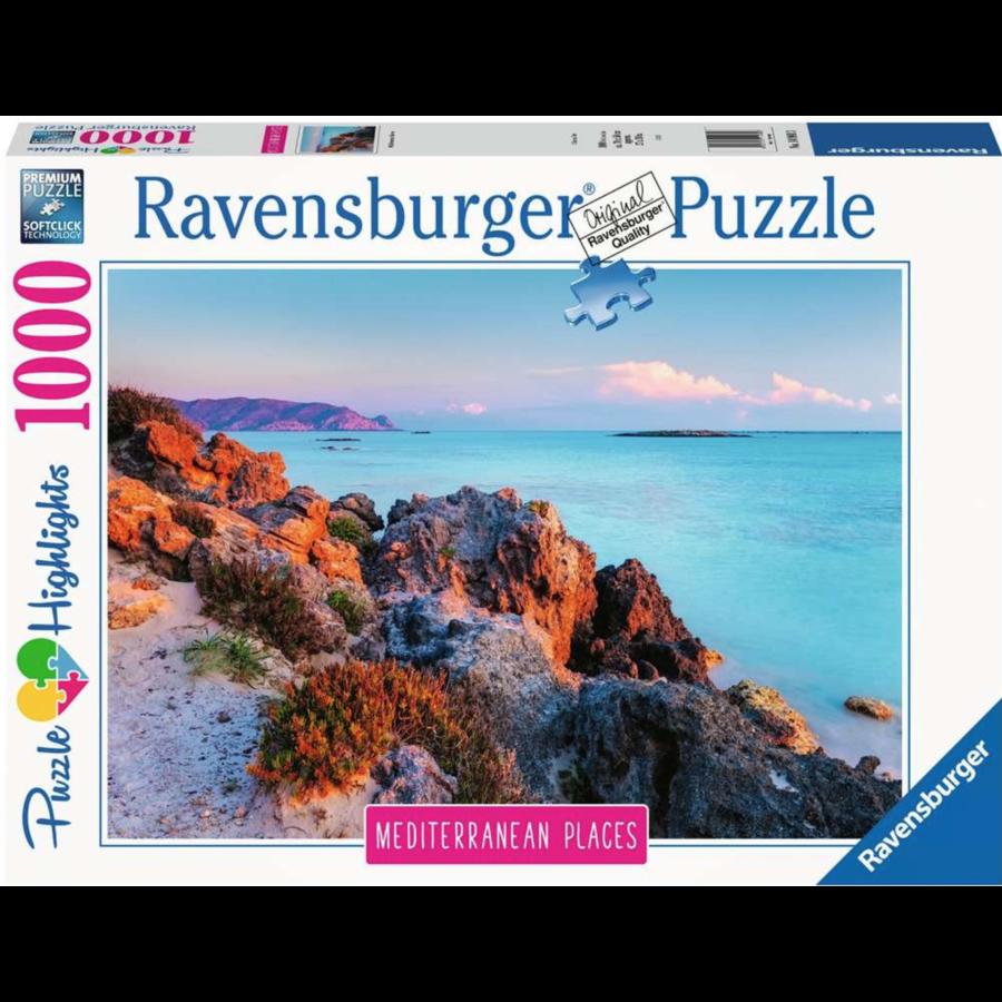 Griekenland - puzzel van  1000 stukjes-1