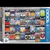 Eurographics Puzzles VW Bus - Cool Faces - puzzle de 1000 pièces