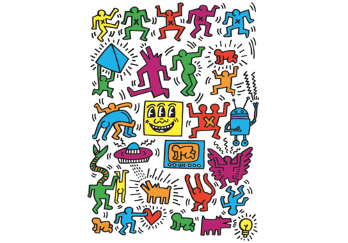 Eurographics Puzzles Keith Haring - Collage - 1000 stukjes