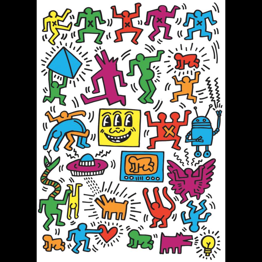 Keith Haring - Collage - puzzel van 1000 stukjes-1