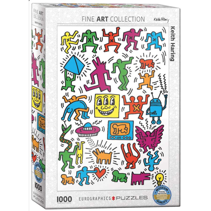 Keith Haring - Collage - 1000 pieces - jigsaw puzzle-2