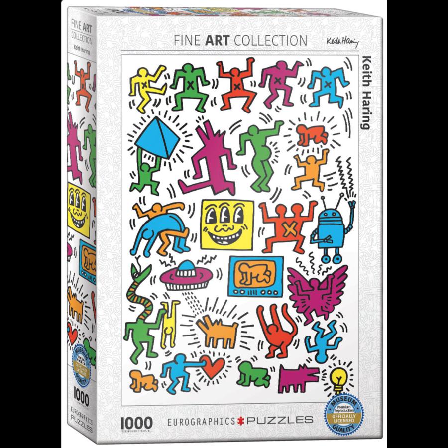 Keith Haring - Collage - puzzle de 1000 pièces-2