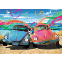 thumb-Beetle Love - 1000 pieces - jigsaw puzzle-1