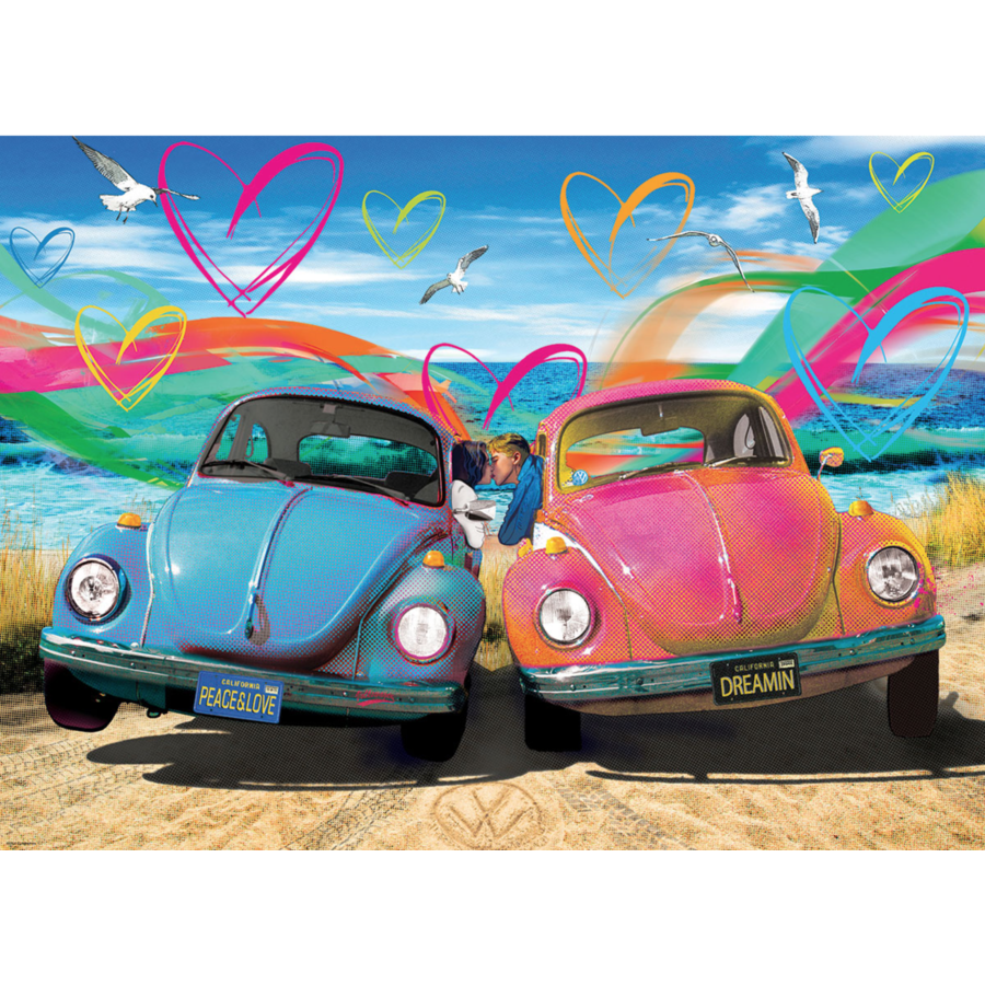 Beetle Love - 1000 pieces - jigsaw puzzle-1