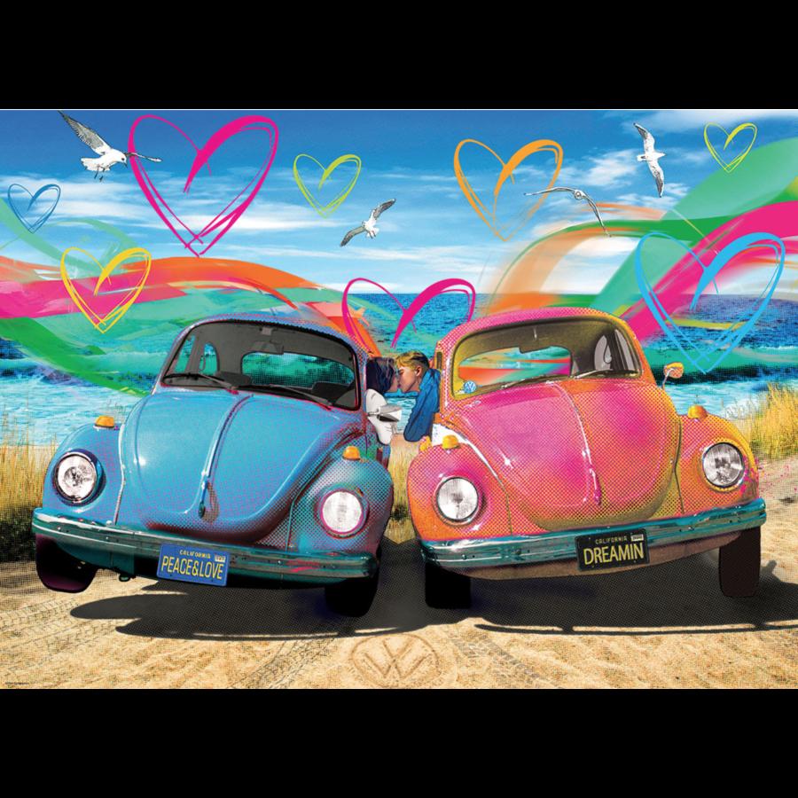 Beetle Love - puzzel van 1000 stukjes-1