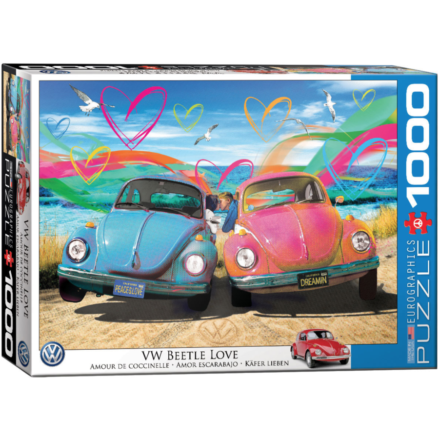 Beetle Love - 1000 pieces - jigsaw puzzle-2