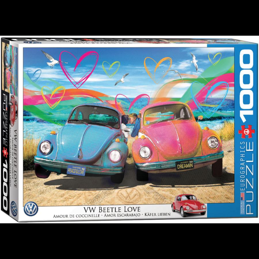 Beetle Love - puzzel van 1000 stukjes-2