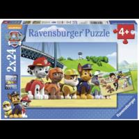 thumb-Paw Patrol - 2 puzzels van 24 stukjes-1