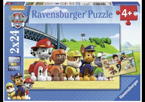 Ravensburger Paw Patrol - 2 x 24 stukjes