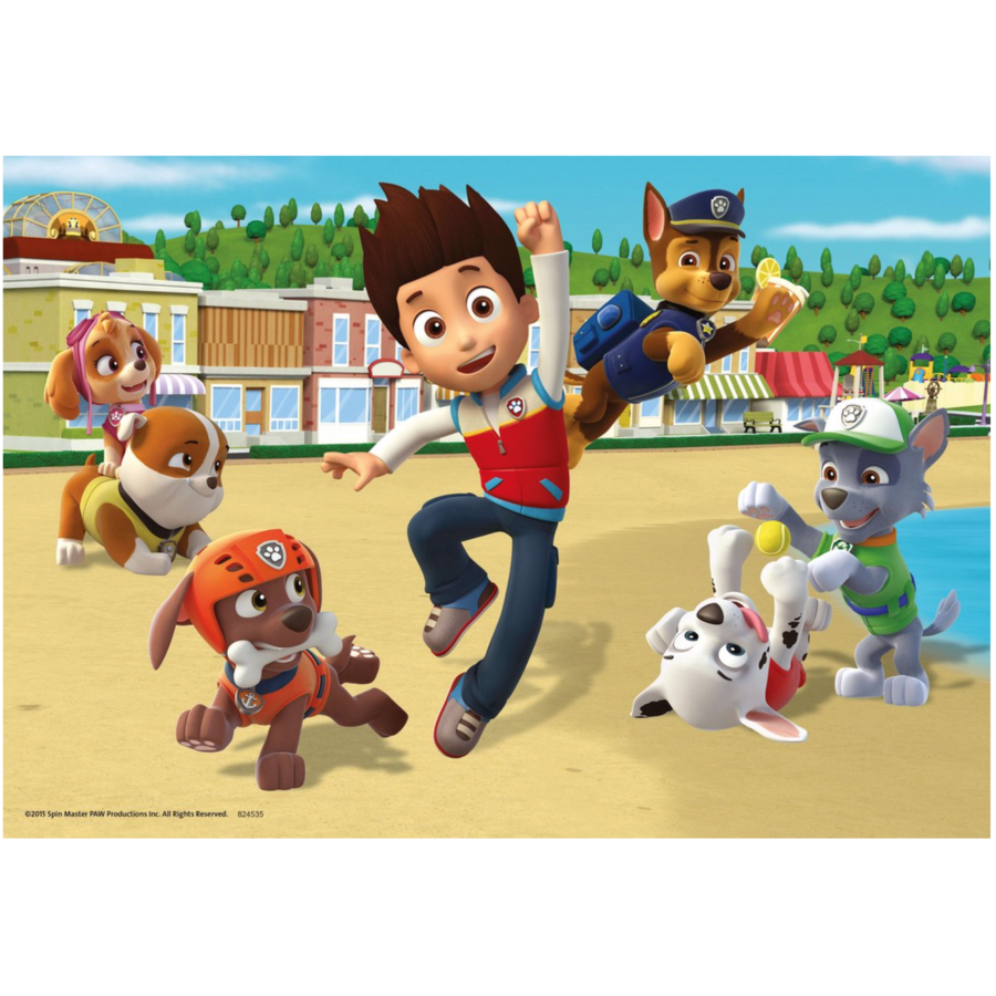 Paw Patrol - 2 puzzles of 24 pieces-2