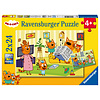 Ravensburger Kid-e-Cats - 2 puzzles of 24 pieces