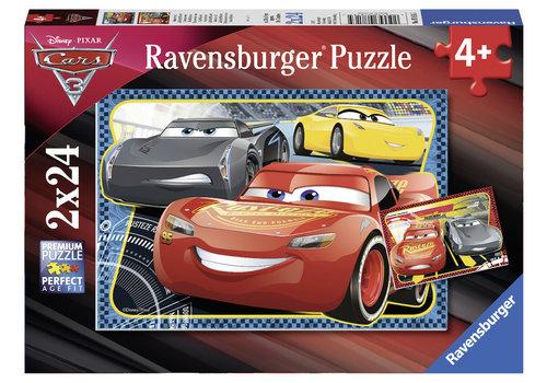 Ravensburger Cars - 2 x 24 stukjes