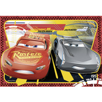 thumb-Cars - 2 puzzles of 24 pieces-2