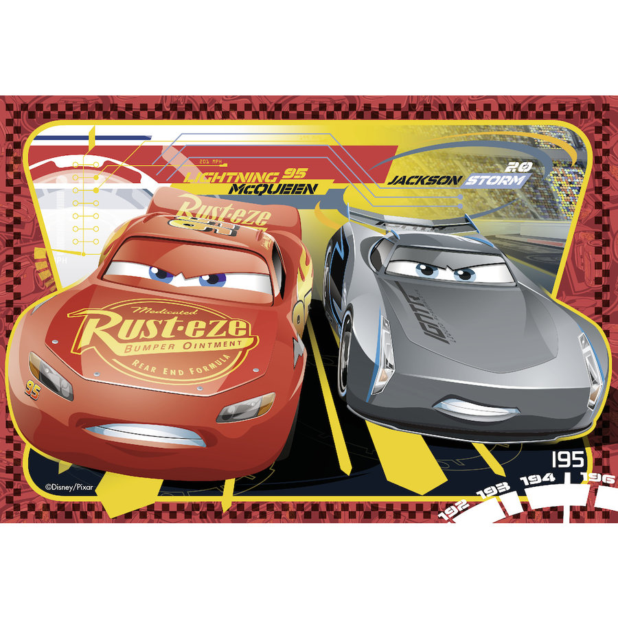Cars - 2 puzzles of 24 pieces-2