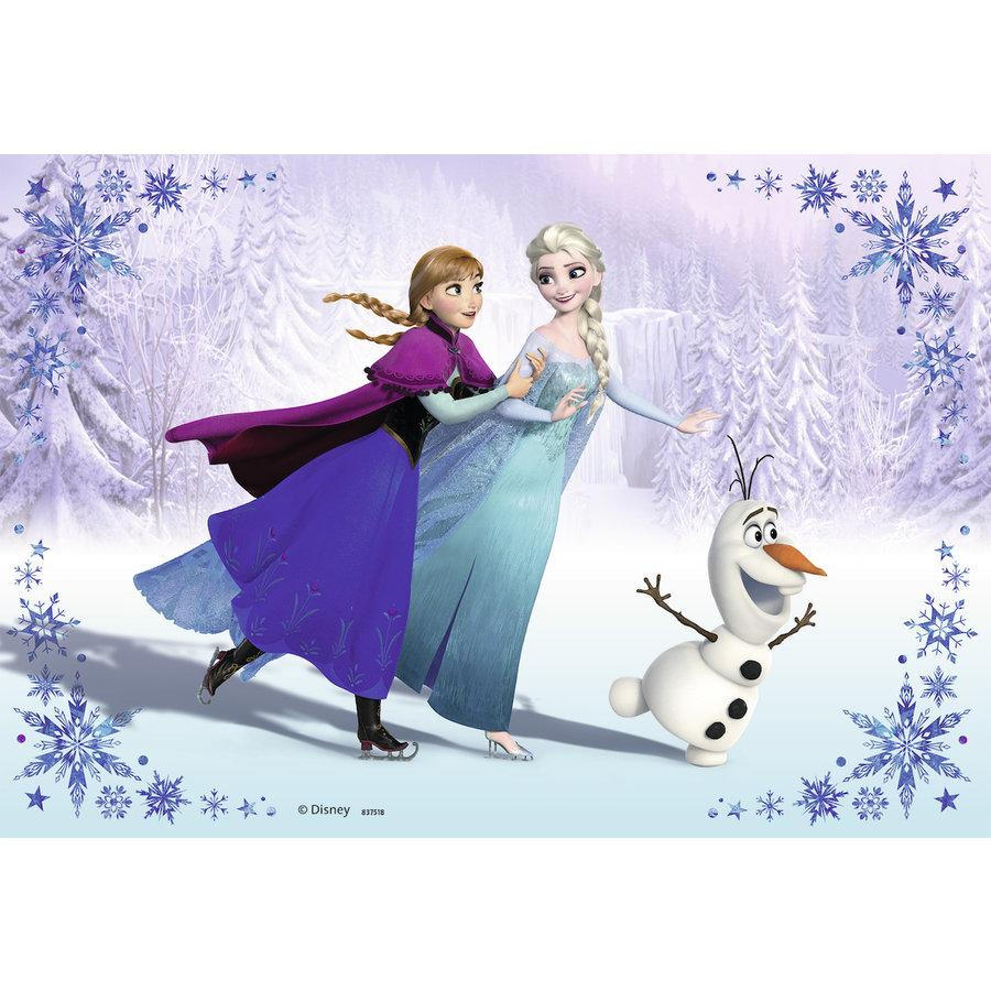 Frozen - 2 puzzles of 24 pieces-3