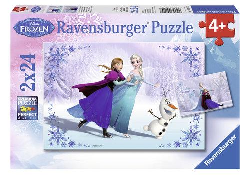 Ravensburger Frozen - 2 x 24 pieces
