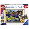Ravensburger Brandweerman Sam - 2 puzzels van 12 stukjes