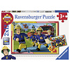 Ravensburger Sam and his team - 2 puzzles of 12 pieces