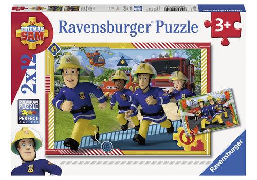 Ravensburger Sam et ses équipe - 2 x 12 pièces