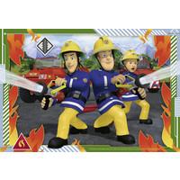 thumb-Brandweerman Sam - 2 puzzels van 12 stukjes-2