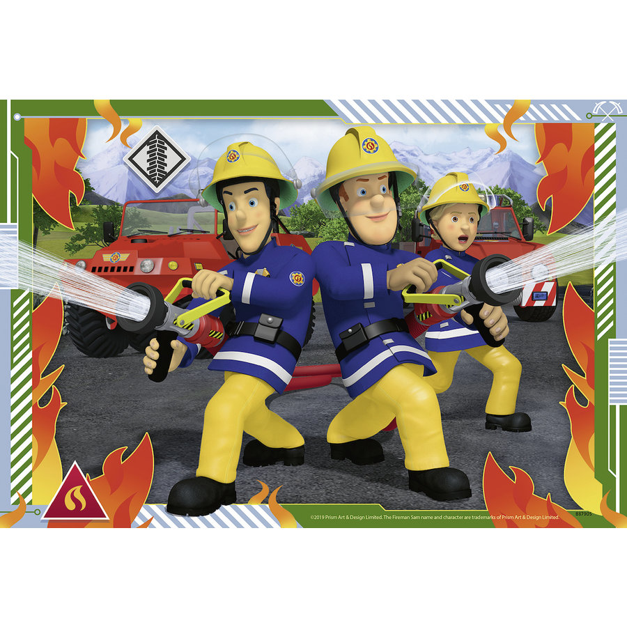 Sam and his team - 2 puzzles of 12 pieces-2