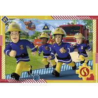 thumb-Brandweerman Sam - 2 puzzels van 12 stukjes-3