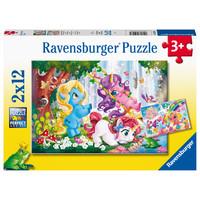 thumb-My Little Pony - 2 puzzels van 12 stukjes-1