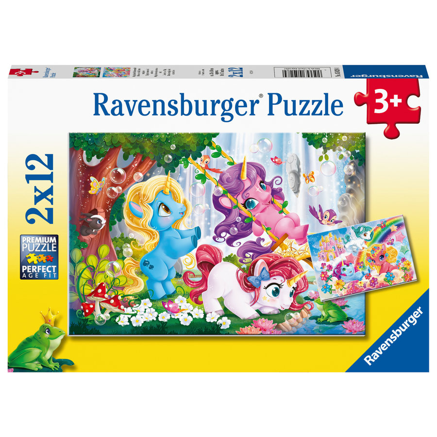 My Little Pony - 2 puzzles of 12 pieces-1