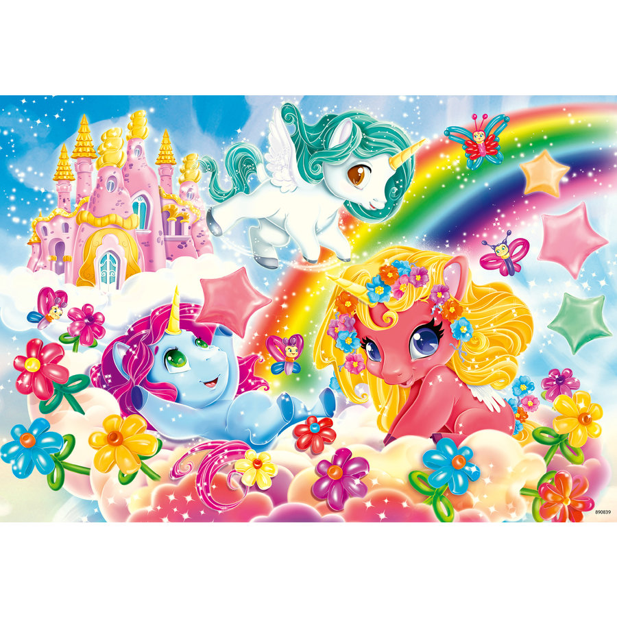 My Little Pony - 2 puzzles of 12 pieces-2