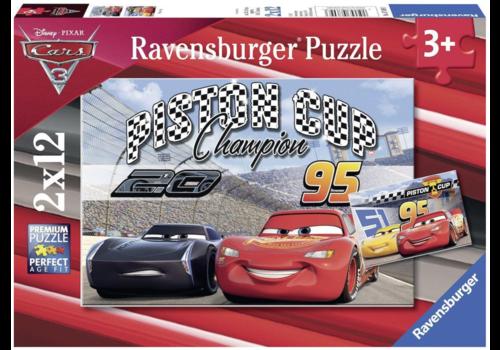 Cars - Piston Cup - 2 x 12 stukjes