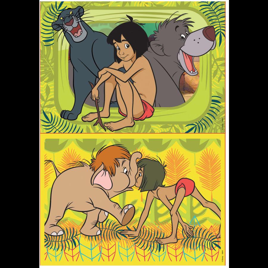 Jungleboek - 2 x 48 stukjes-2