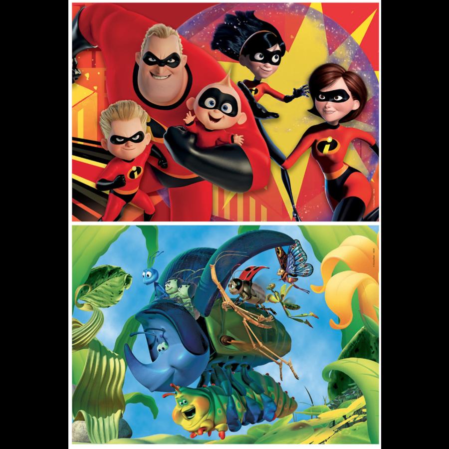 Pixar - 2 x 48 stukjes-2