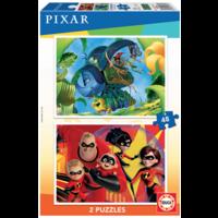 thumb-Pixar - 2 x 48 pièces-1