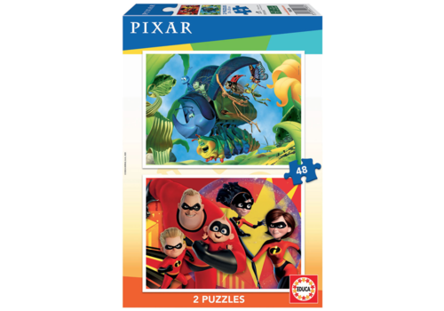 Educa Pixar - 2 x 48 pieces