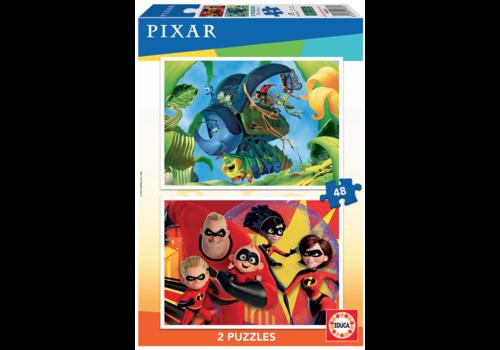 Pixar - 2 x 48 pieces