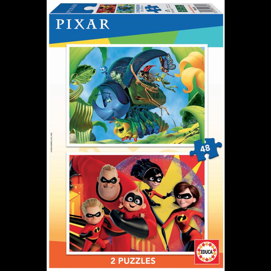 Pixar - 2 x 48 stukjes-1