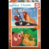 thumb-Lion King - 2 x 48 pièces-1