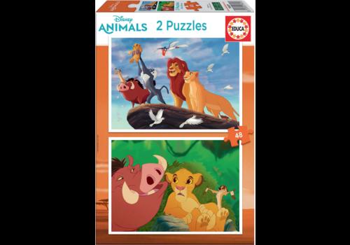 Lion King - 2 x 48 pieces