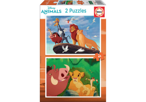 Educa Lion King - 2 x 48 stukjes